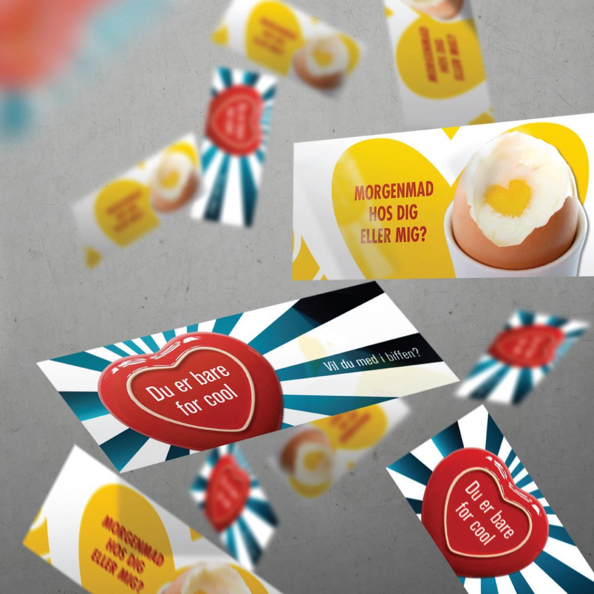 E-cards – Valentins dag→