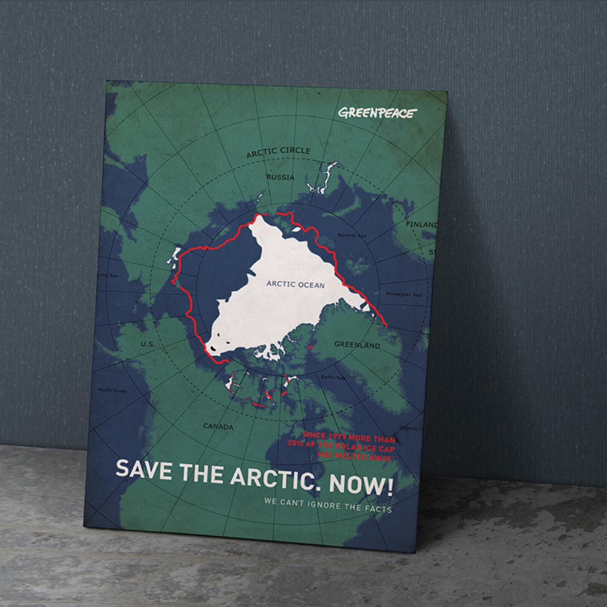 Greenpeace plakatkonkurrence→